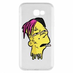 Чехол для Samsung A7 2017 Bart as Lil Peep