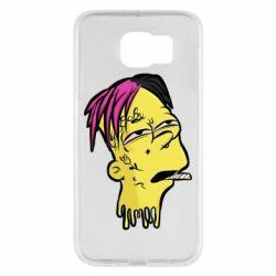 Чехол для Samsung S6 Bart as Lil Peep