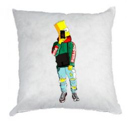 Подушка Bart Simpson fashionable
