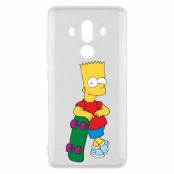 Чехол для Huawei Mate 10 Pro Bart Simpson - FatLine