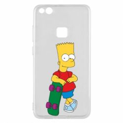 Чехол для Huawei P10 Lite Bart Simpson - FatLine