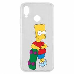Чехол для Huawei P20 Lite Bart Simpson - FatLine