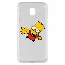 Чехол для Samsung J3 2017 Барт Симпсон