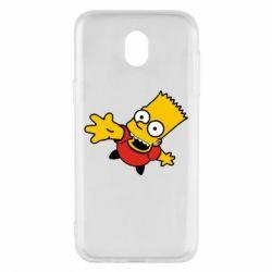 Чехол для Samsung J5 2017 Барт Симпсон