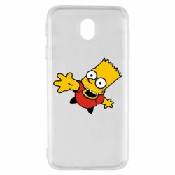 Чехол для Samsung J7 2017 Барт Симпсон