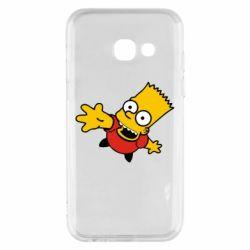 Чехол для Samsung A3 2017 Барт Симпсон