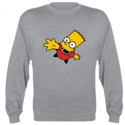 Реглан (свитшот) Барт Симпсон - FatLine