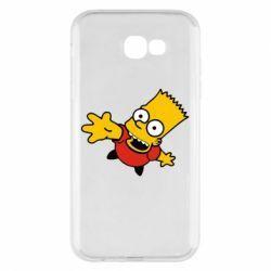 Чехол для Samsung A7 2017 Барт Симпсон
