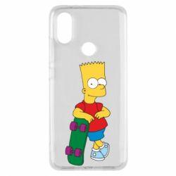 Чехол для Xiaomi Mi A2 Bart Simpson - FatLine