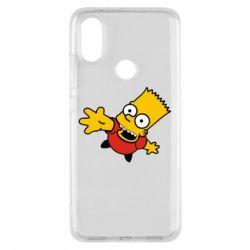 Чехол для Xiaomi Mi A2 Барт Симпсон