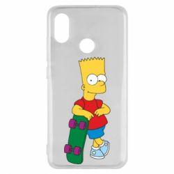 Чехол для Xiaomi Mi8 Bart Simpson - FatLine