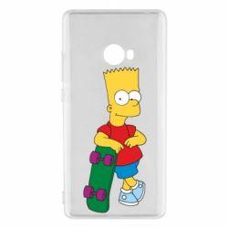 Чехол для Xiaomi Mi Note 2 Bart Simpson - FatLine