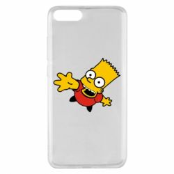 Чохол для Xiaomi Mi Note 3 Барт Симпсон