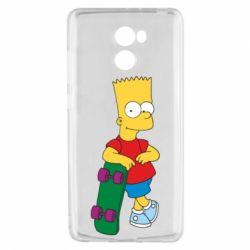 Чехол для Xiaomi Redmi 4 Bart Simpson - FatLine
