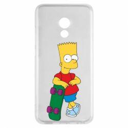 Чехол для Meizu Pro 6 Bart Simpson - FatLine