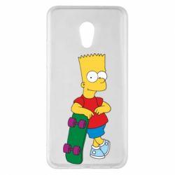 Чехол для Meizu Pro 6 Plus Bart Simpson - FatLine