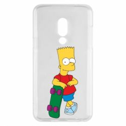 Чехол для Meizu 15 Bart Simpson - FatLine