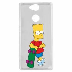 Чехол для Sony Xperia XA2 Bart Simpson - FatLine