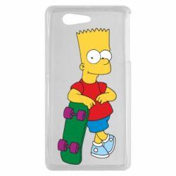 Чехол для Sony Xperia Z3 mini Bart Simpson - FatLine