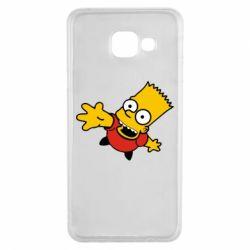 Чехол для Samsung A3 2016 Барт Симпсон