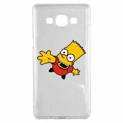 Чехол для Samsung A5 2015 Барт Симпсон