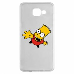 Чехол для Samsung A5 2016 Барт Симпсон