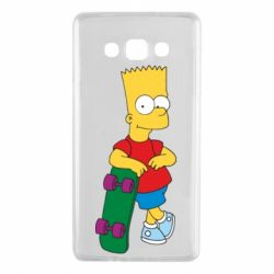 Чехол для Samsung A7 2015 Bart Simpson - FatLine