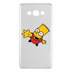 Чехол для Samsung A7 2015 Барт Симпсон