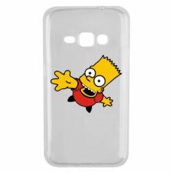 Чехол для Samsung J1 2016 Барт Симпсон