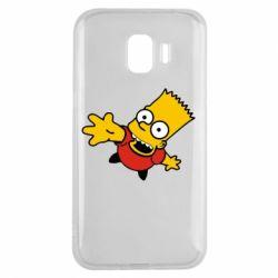 Чехол для Samsung J2 2018 Барт Симпсон