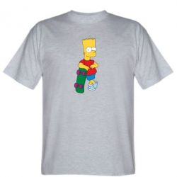 Мужская футболка Bart Simpson - FatLine