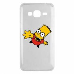 Чехол для Samsung J3 2016 Барт Симпсон
