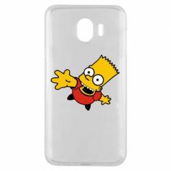Чехол для Samsung J4 Барт Симпсон