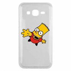 Чехол для Samsung J5 2015 Барт Симпсон