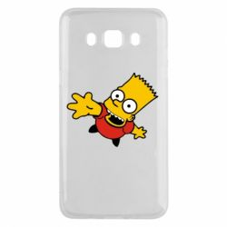 Чехол для Samsung J5 2016 Барт Симпсон