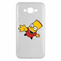 Чехол для Samsung J7 2015 Барт Симпсон