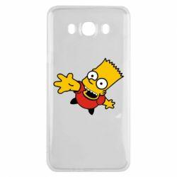 Чехол для Samsung J7 2016 Барт Симпсон