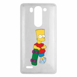 Чехол для LG G3 mini/G3s Bart Simpson - FatLine