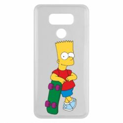 Чехол для LG G6 Bart Simpson - FatLine