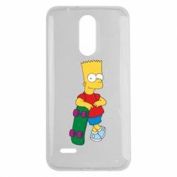 Чехол для LG K7 2017 Bart Simpson - FatLine