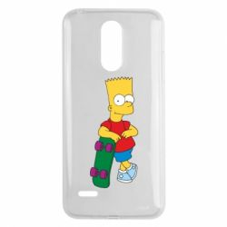 Чехол для LG K8 2017 Bart Simpson - FatLine