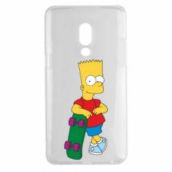 Чехол для Meizu 15 Plus Bart Simpson - FatLine