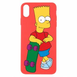 Чохол для iPhone Xs Max Bart Simpson