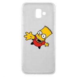 Чехол для Samsung J6 Plus 2018 Барт Симпсон