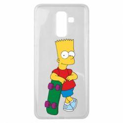 Чехол для Samsung J8 2018 Bart Simpson - FatLine