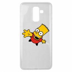 Чехол для Samsung J8 2018 Барт Симпсон