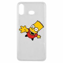Чехол для Samsung A6s Барт Симпсон