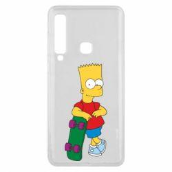 Чехол для Samsung A9 2018 Bart Simpson - FatLine