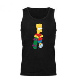 Мужская майка Bart Simpson - FatLine