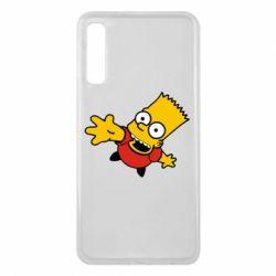 Чехол для Samsung A7 2018 Барт Симпсон